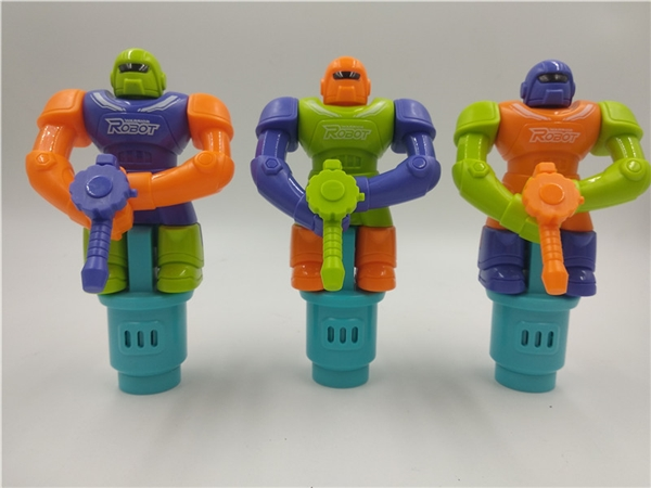 Shooting robot candy toys gifts small toys