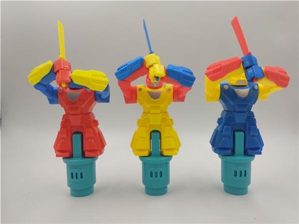 Robot Samurai candy toys gifts small toys