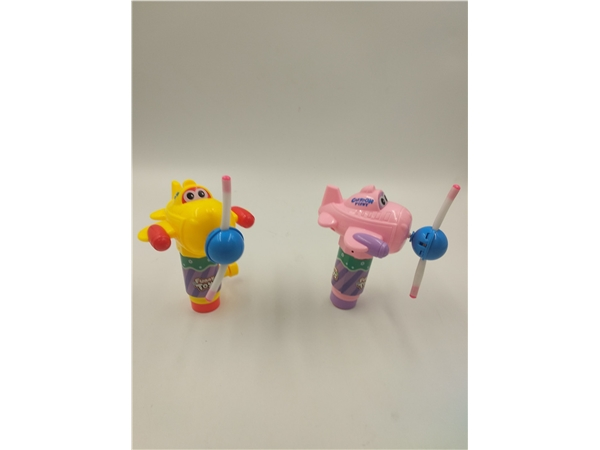 Passenger plane light stick candy toy gift small toy