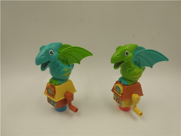 Hand held flying dragon candy toys gifts small toys