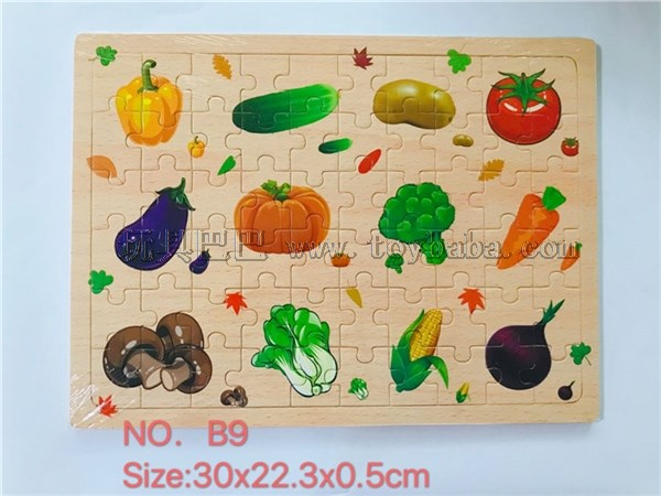 Vegetable collection (60 pieces)
