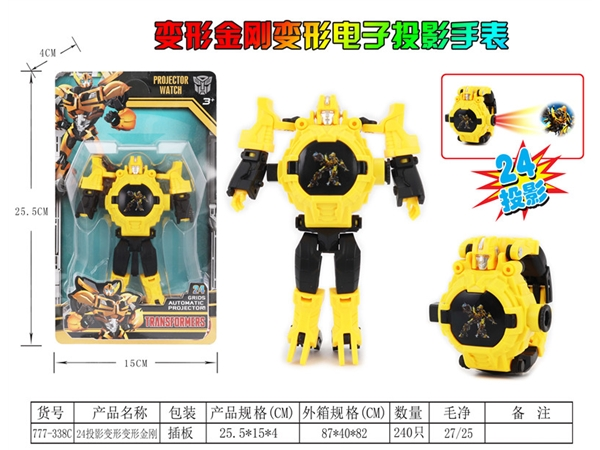 24 projection deformation watch transformers