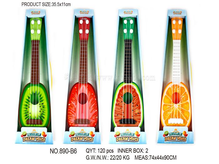 Fruit guitar musical instrument toys