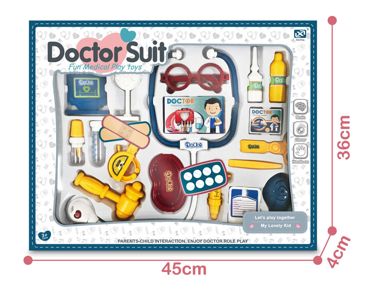 Children's simulated medical instrument acousto-optic package