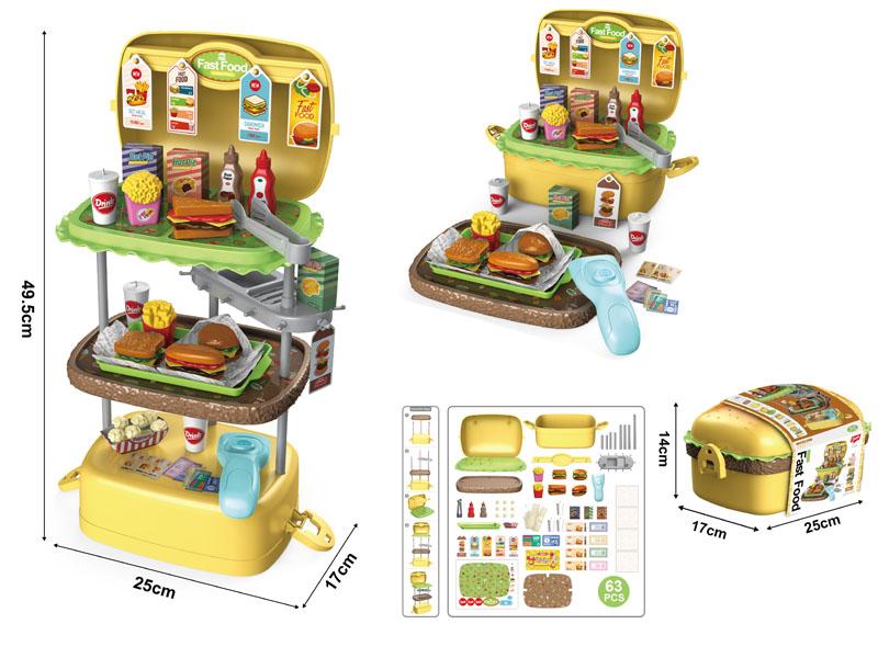 Hamburger set 63pcs