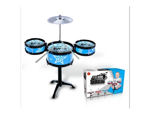 Xinle'er black circle star sky blue jazz drum 3 drums