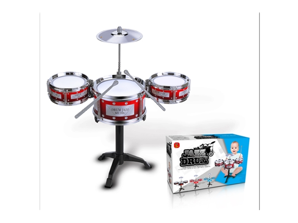 Xinle'er Silver Circle classic simple jazz drum 3 drums