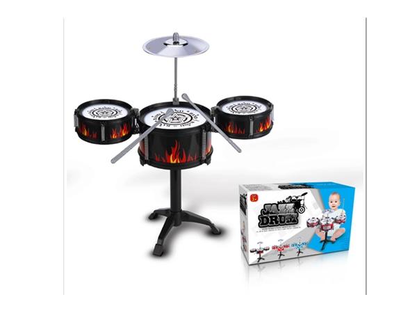 Xinle'er black circle fire advanced jazz drum 3 drums