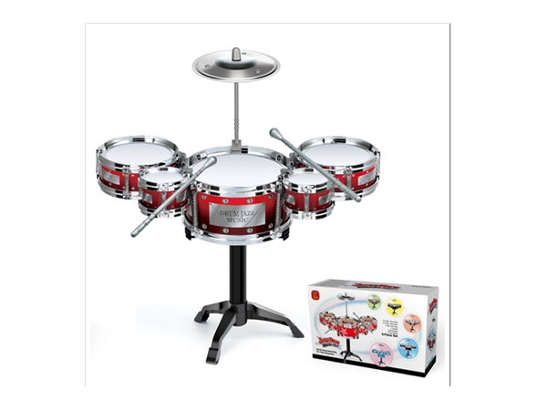 Xinle'er Silver Circle classic simple jazz drum 5 drums
