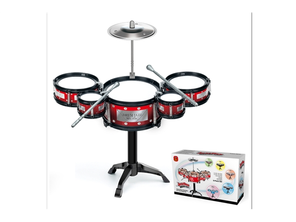 Xinle'er black circle classic simple jazz drum 5 drums