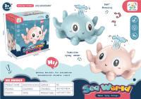 喷水小章鱼 玩水夏日玩具 戏水