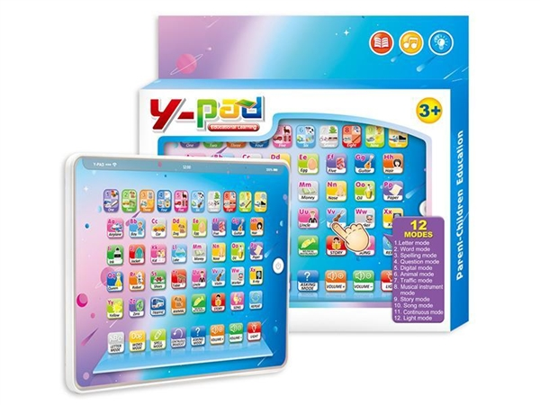Y-pad touch voice learning machine - English Happy Farm Toy