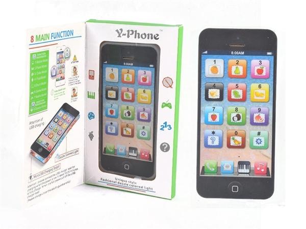 Y-phone Apple simulation mobile phone multifunctional educational toy