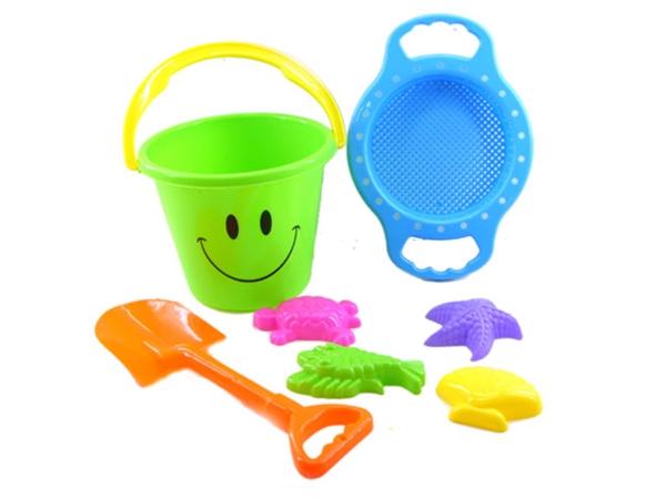206 smiling face beach bucket combination 4 (7 pieces)
