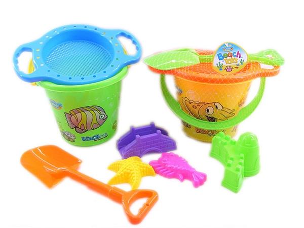 206 underwater world beach bucket combination 6 (7 pieces)