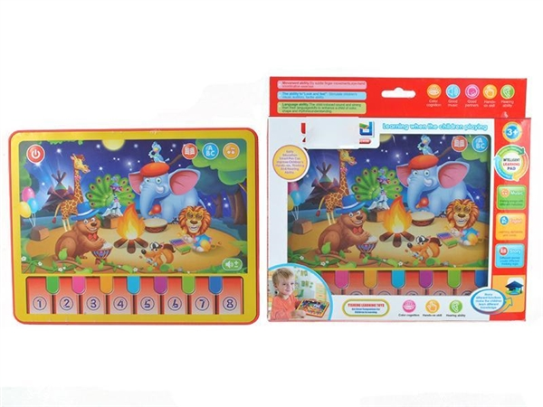 English animal concert tablet learning machine