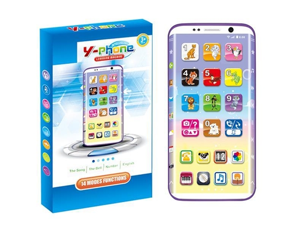 English multifunctional learning song screen mobile phone