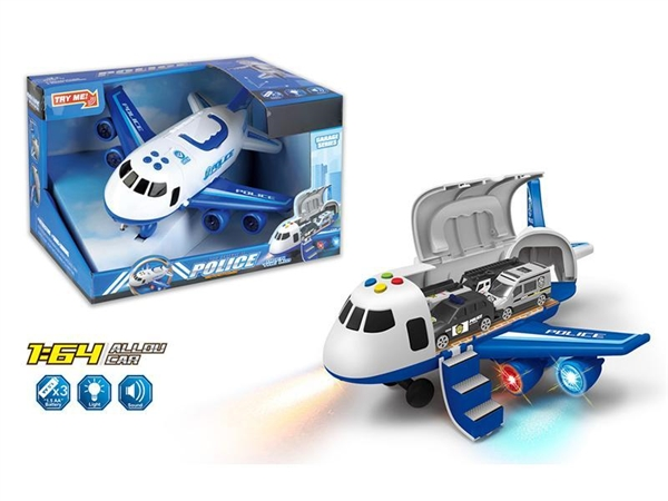 Light music inertia deformable police storage aircraft