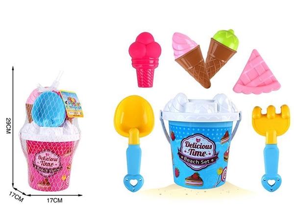 Beach Bucket 8-piece set