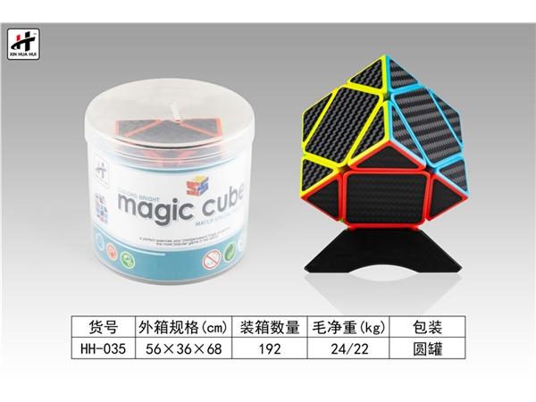 Oblique magic cube puzzle intelligence toy