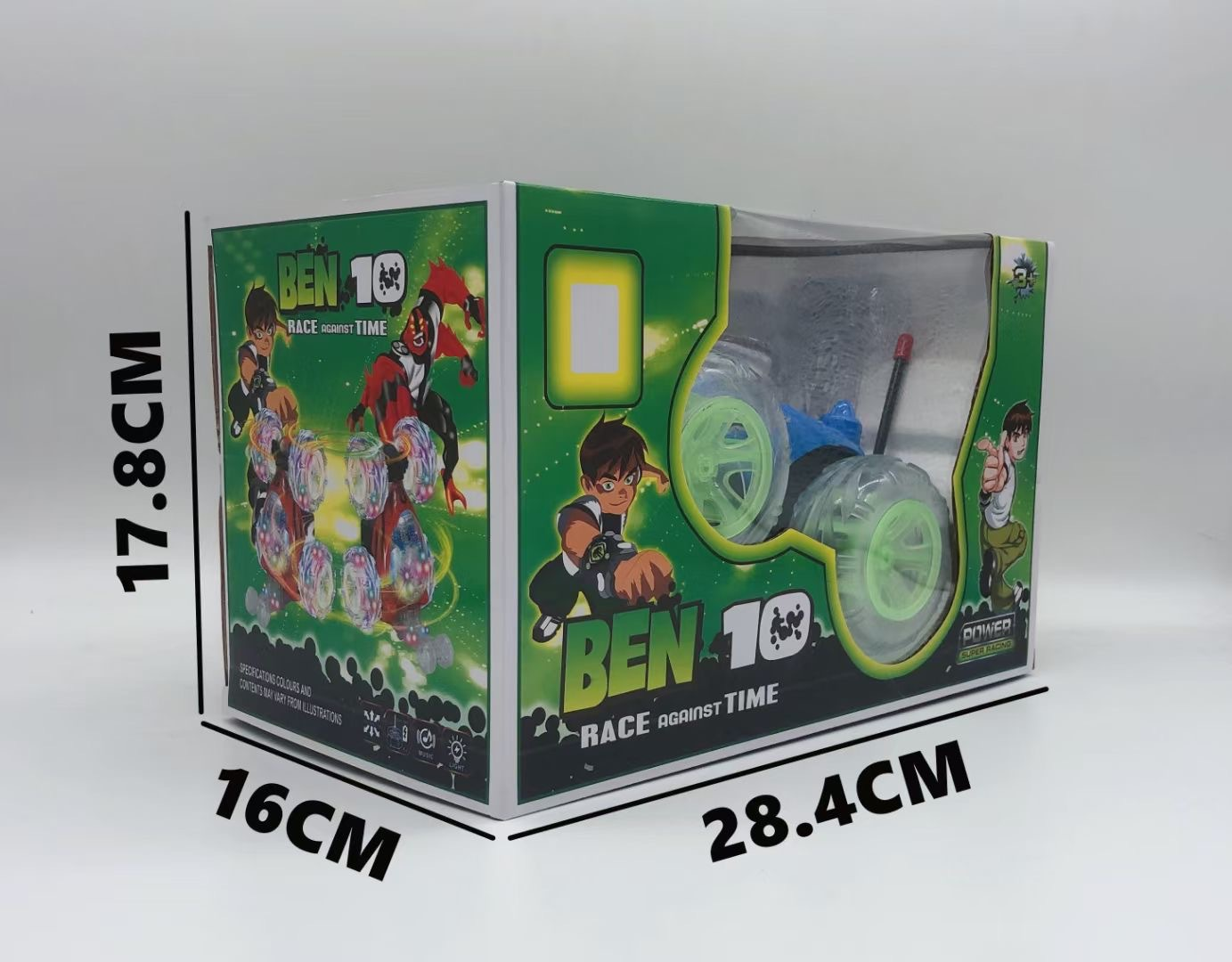 Children's toy stunt high-speed climbing off-road vehicle remote control tipper transverse drift double-sided cross-bord
