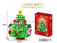圣诞树积木700pcs