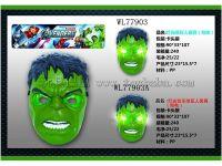 灯光绿巨人面具(包电)
