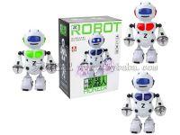 电动激光手跳舞机器人带灯光音乐(中文)