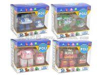 POLI 变形车上链车(4色混装)