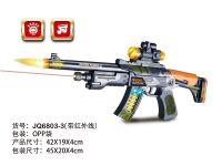 电动迷彩喷漆冲锋枪(带红外线)