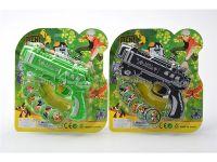 太空版飞碟枪(BEN10图案)黑绿混装
