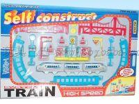电动拼装轨道火车