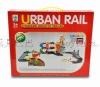 轨道停车场城市模型