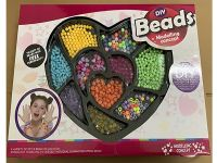 DIY串珠套装 10格10种珠子可选 益智串珠玩具