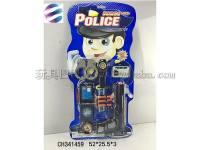 警察套装玩具 仿真手铐玩具枪等组合模型玩具