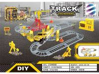 合金工程电动轨道套装65PCS 儿童益智智力玩具