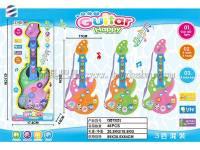 八键卡通吉他 益智乐器吉他玩具 过家家玩具