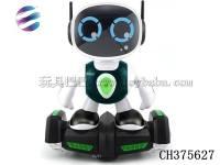 机器人万向车 电动机器人平衡车 益智玩具
