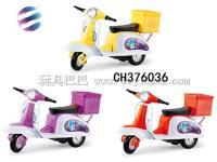 回力带尾箱摩托车 回力车子 仿真迷你摩托车模型玩具