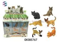 实身宠物猫 仿真猫模型玩具 趣味过家家动物玩具