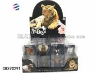 动物戒指 趣味过家家玩具 仿真动物模型玩具
