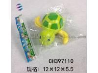 上链乌龟 卡通上链乌龟玩具 地摊玩具批发