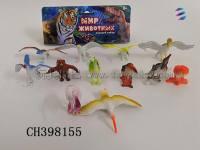 鸟类玩具套装 仿真鸟模型玩具 儿童早教认知鸟类