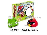 新款感应红外线灯光音乐捣蛋的小鸟/愤怒的小鸟/双模式耐摔益智能悬浮感应玩具