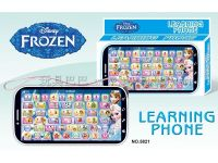 5821学习机玩具冰雪学习机手机冰雪公主学习机学习机冰雪公主智力玩具5821冰雪公主手机学习机/多款图案(冰雪公主)