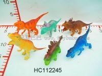 6只4寸环保恐龙