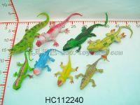 鳄鱼+蜥蜴(4款10寸+4款4寸)