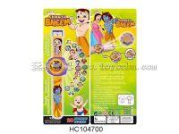 印度小子投影手表(20图包电)