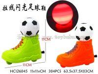 拉线闪光足球鞋