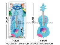 冰雪公主灯光音乐小提琴